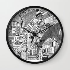Fly Above Wall Clock