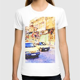 Aleppo: Taxi through the streets of Aleppo T-shirt
