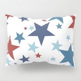 Stars - Red, White and Blue Pillow Sham