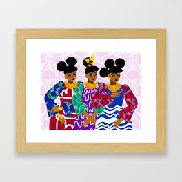 Heiresses Framed Art Print