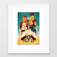 mad max Framed Art Prints featuring Mad Max by marclafon