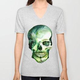 Painted Skull #1 Unisex V-Neck
