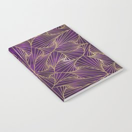 Tangles Violet and Gold Notebook