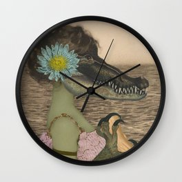 MANEATER Wall Clock