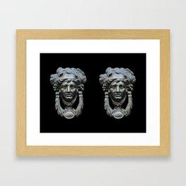 Nice pair of knockers Framed Art Print