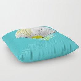 Morning Sounds Floor Pillow