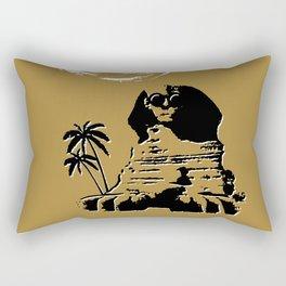 Sunshine Sentinel (Gold) Rectangular Pillow