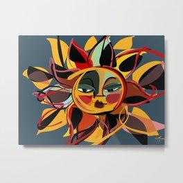 A sun for Emma Metal Print