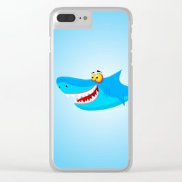 Great White(ish) Clear iPhone Case