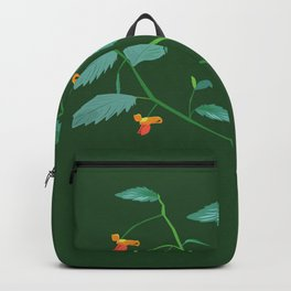 Jewel weed - illustration Backpack