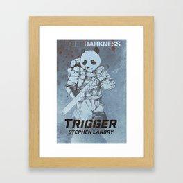Deep Darkness - Trigger Cover Art Framed Art Print