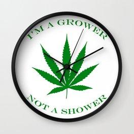 Marijuana Dispensary Legal Weed Wall Clock