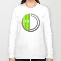 lime green Long Sleeve T-shirts featuring Lime by Ryukaza