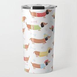 Cute Bassotti Travel Mug