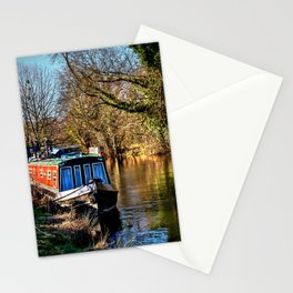 The Kennet In January Sunshine Stationery Cards