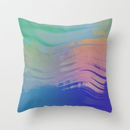 rock n rolling to the 80s Throw Pillow