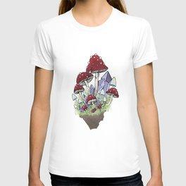 Mushrooms & Crystals T-shirt