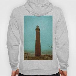 Little Sable Point Lighthouse Beach Brick Light Tower Lake Michigan Hoody