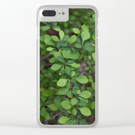 A Shrubbery Clear iPhone Case