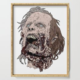 Zombie Head Serving Tray