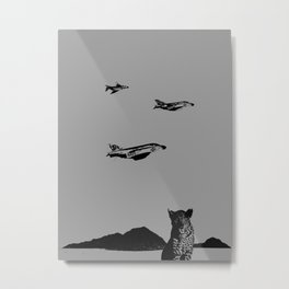 Vector Roll Metal Print