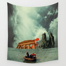 We Are All Fishermen Wall Tapestry