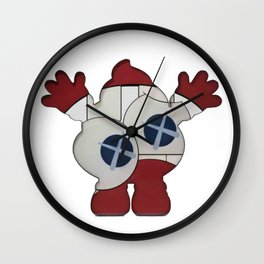 Happy Poop Wall Clock