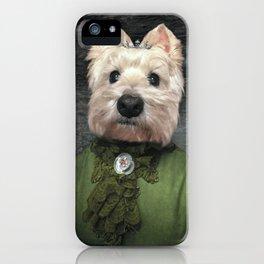 Lady Misty iPhone Case
