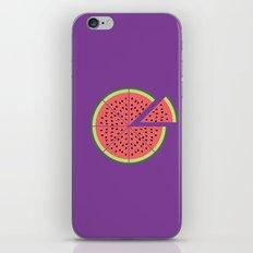 Watermelon Pizza iPhone & iPod Skin