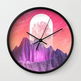 Newborn Star Wall Clock