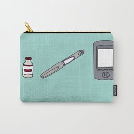 BFF - Blue Carry-All Pouch