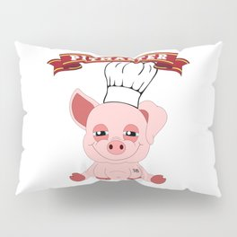 Pitmaster Pig Piggy BBQ Barbecue Pulled Pork Pillow Sham