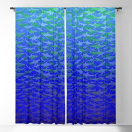 Sharks In Deep Water. Blackout Curtain