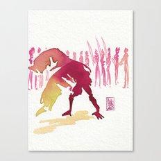 Capoeira 327 Canvas Print
