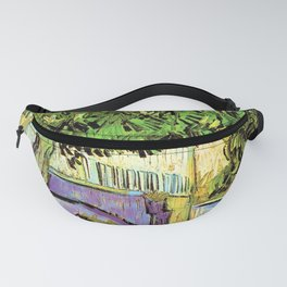 Vincent van Gogh : Blossoming Chestnut Tree 1887 Fanny Pack