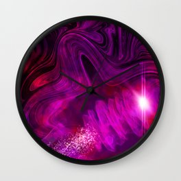Luminous Coils Wall Clock