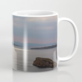 Sea View From Poseidon Temple Coffee Mug