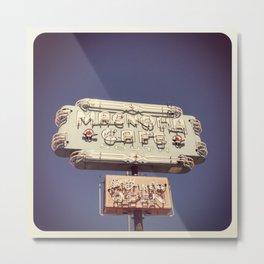 Magnolia Cafe Metal Print