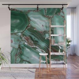 Luxury Malachite Marble Agate Wall Mural