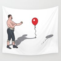 boxer Wall Tapestries featuring Boxer by Josh Ross