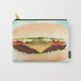 Hamburger Carry-All Pouch