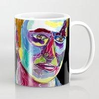 david tennant Mugs featuring Tenth Doctor / David Tennant by Siriusreno
