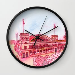 Ye Olde Venice Bathing Pavilion Wall Clock
