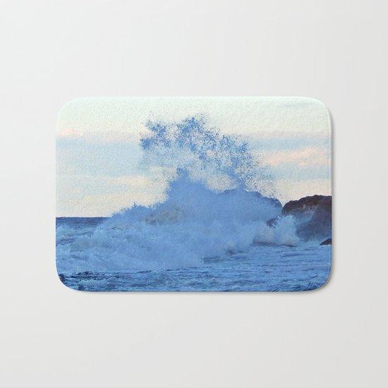 Exploding Surf  Bath Mat