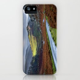 Valley of Rocks. iPhone Case