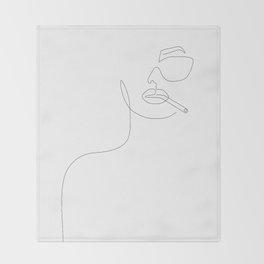 Sunny Smoke Throw Blanket