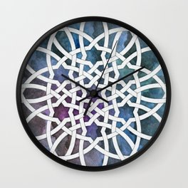 Galaxy Cutout Wall Clock