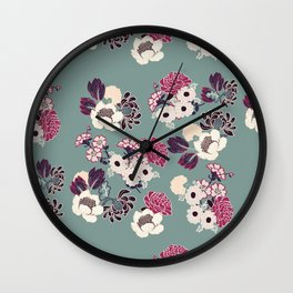 Victorian Vintage dark Wall Clock