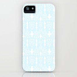 Greco Cameo Lolita in Powder Blue iPhone Case