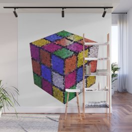 The color cube Wall Mural